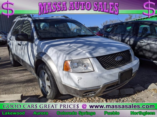 2006 Ford Freestyle 4dr Wgn SE WHITE Cloth Seats