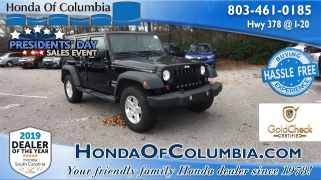 2013 Jeep Wrangler Unlimited 4WD 4dr Sport BLACK