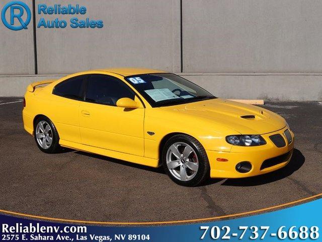 2005 Pontiac GTO 2dr Cpe YELLOW JACKET CD Player CD Changer