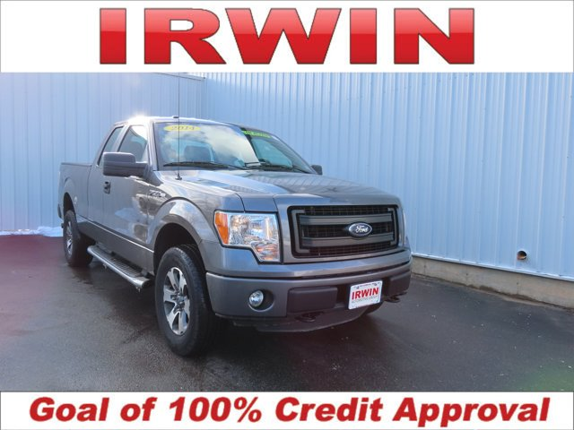 2014 Ford F-150 STERLING GRAY METALLIC Pass-Through Rear Seat