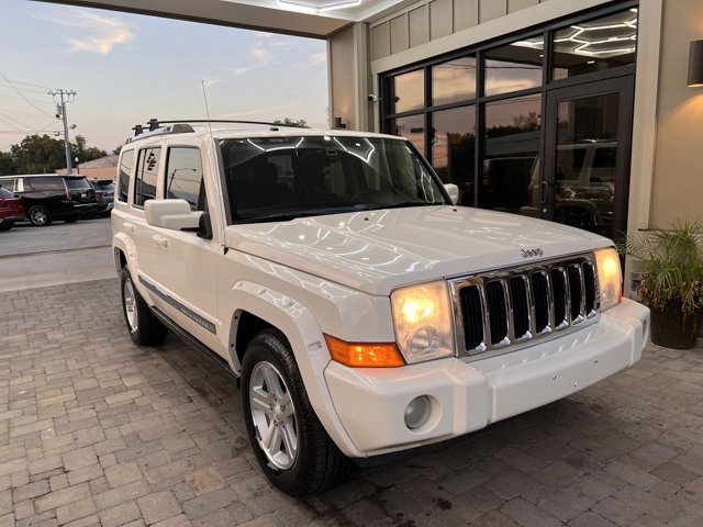 2010 Jeep Commander 4WD 4dr Limited STONE WHITE