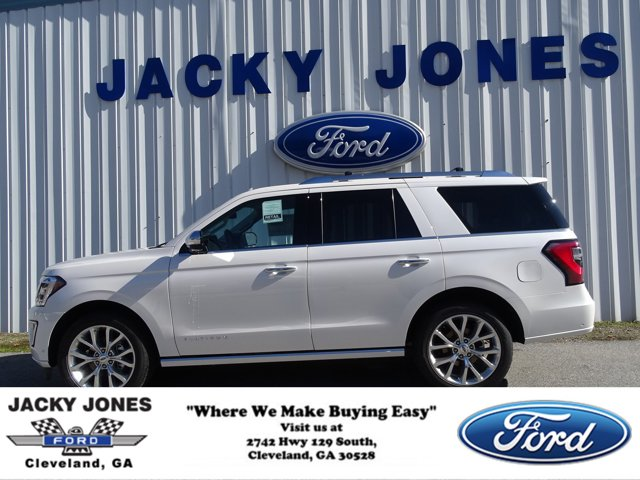 2019 Ford Expedition Platinum 4x2 WHITE