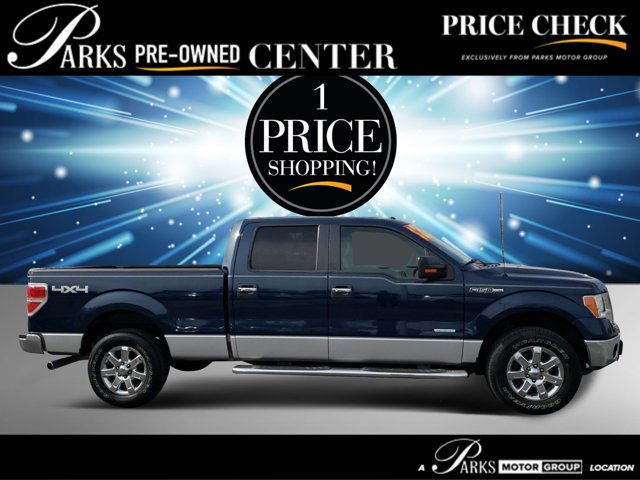 2013 Ford F-150 BLUE JEANS METALLIC Cloth Seats CD Player
