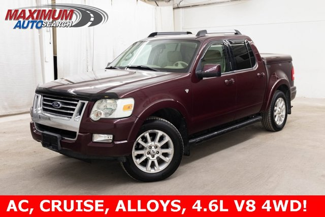 2007 Ford Explorer Sport Trac 4WD 4dr V8 Limited DARK CHERRY