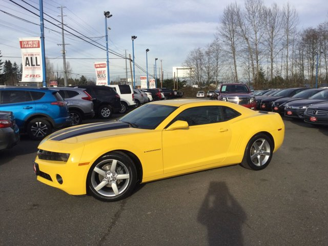 2013 Chevrolet Camaro 2dr Cpe LT w/2LT RALLY YELLOW