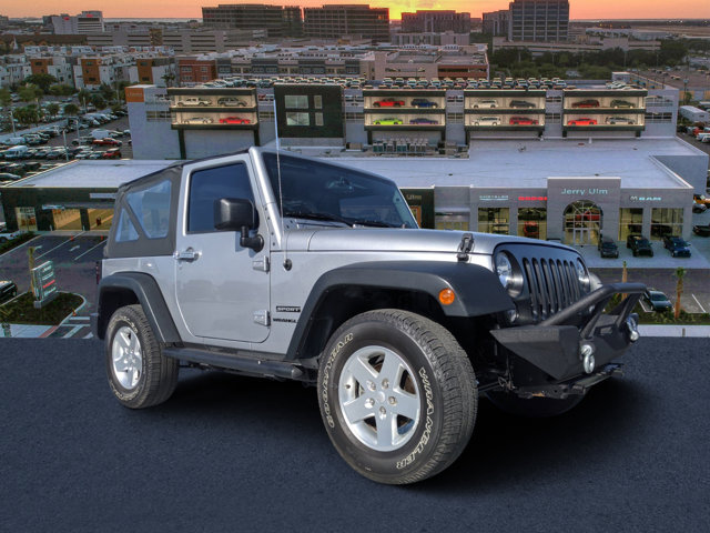 2014 Jeep Wrangler 4WD 2dr Sport Billet Metallic Clearcoat