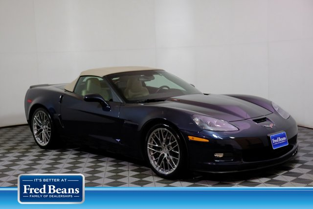 2013 Chevrolet Corvette 2dr Conv 427 w/1SB Night Race Blue