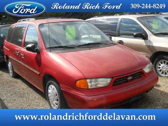 "1998 Ford Windstar Wagon 120.7"" WB LX Cabernet Red (CC/Met)"