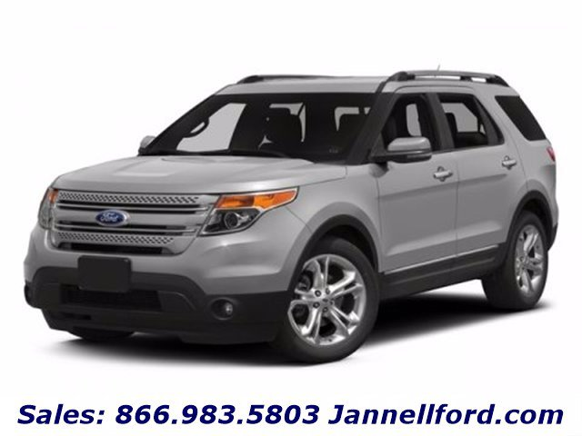 2015 Ford Explorer 4WD 4dr Limited GRAY Auxiliary Audio Input
