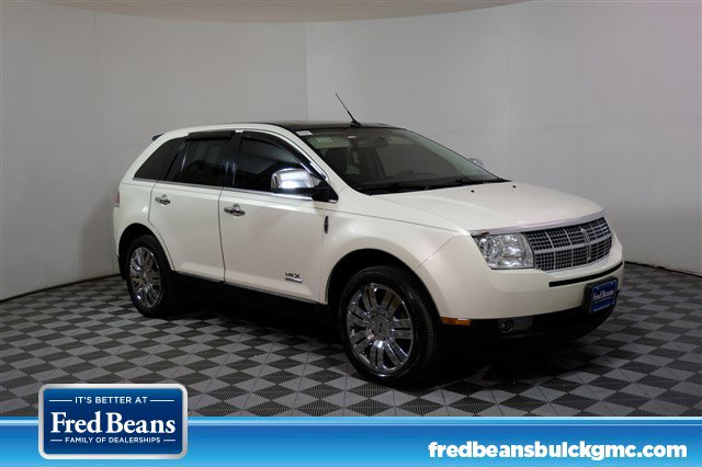 2008 Lincoln MKX AWD 4dr WHITE Bluetooth Connection