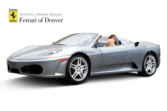 2007 Ferrari 430 2dr Convertible Spider Grigio Titanio Metallic
