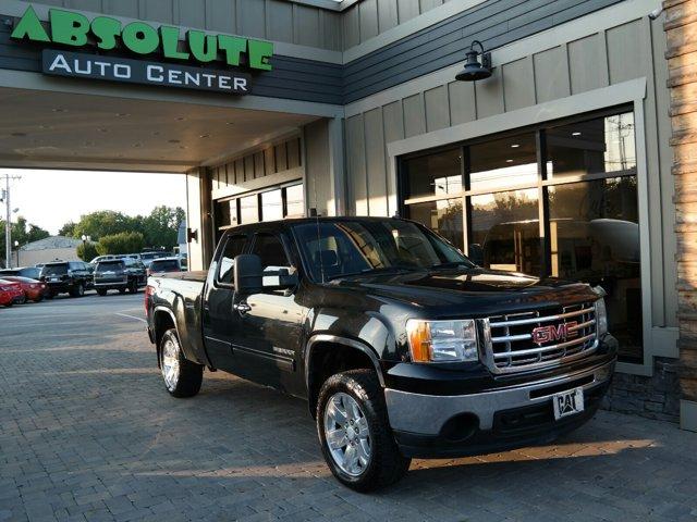 2009 GMC Sierra 1500 4WD EXT CAB 143.5 SLE ONYX BLACK