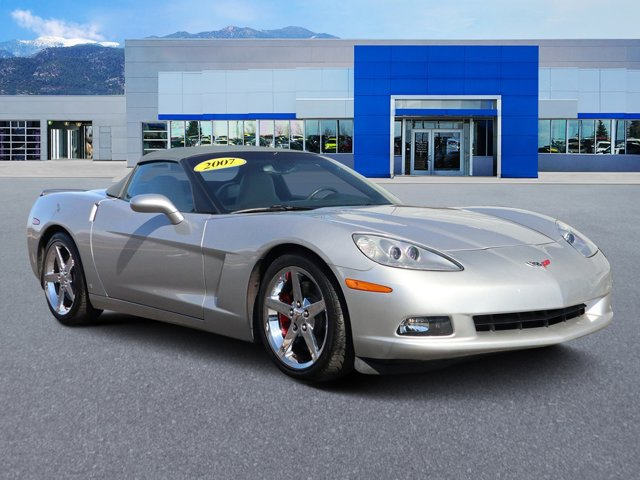 2007 Chevrolet Corvette 2dr Conv MACHINE SILVER METALLIC