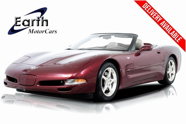 2003 Chevrolet Corvette 2dr Convertible RUBY RED