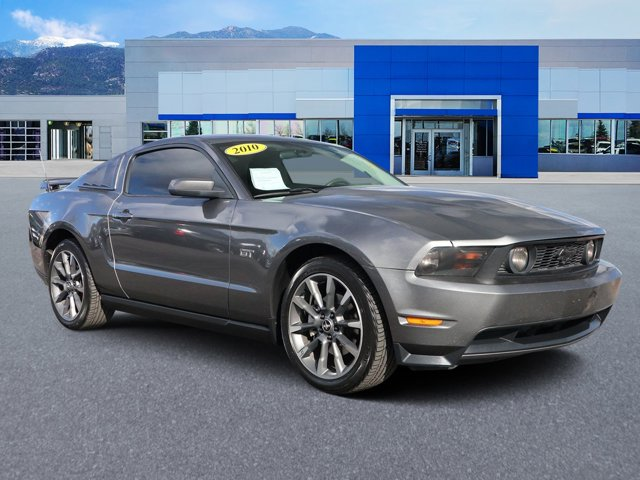 2010 Ford Mustang 2dr Cpe GT STERLING GREY METALLIC