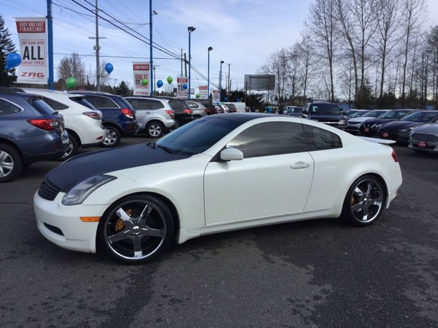 2004 Infiniti G35 Coupe 2dr Cpe Manual w/Leather