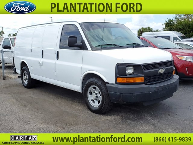 "2005 Chevrolet Express Cargo Van 1500 135"" WB RWD SUMMIT WHITE"