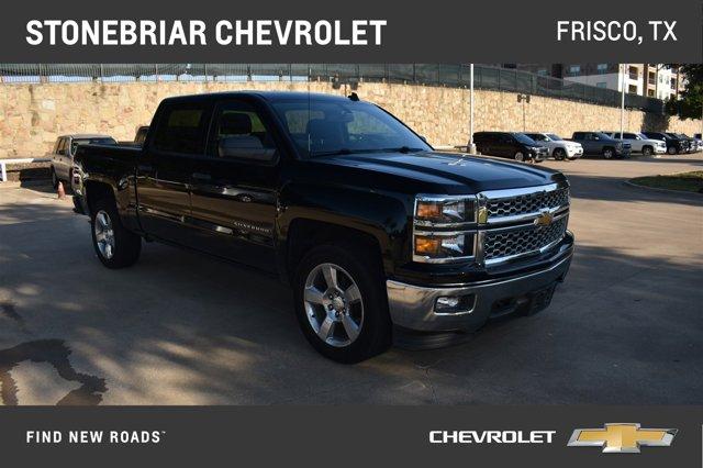 """2014 Chevrolet Silverado 1500 4WD Crew Cab 143.5"""" LT w/1LT BLAC"""