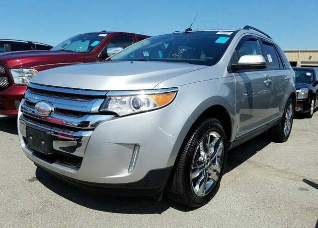 2013 Ford Edge 4dr SEL FWD SILVER CD Player Bucket Seats