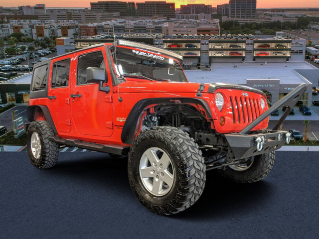 2013 Jeep Wrangler Unlimited 4WD 4dr Sahara Rock Lobster