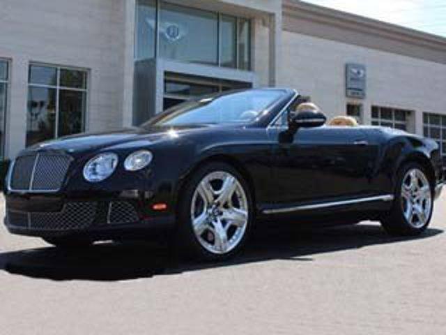 2013 Bentley Continental GT 2dr Conv Onyx Metallic