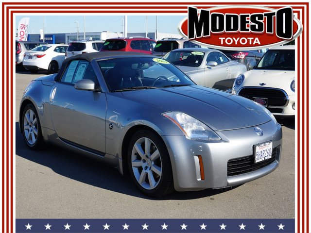 2004 Nissan 350Z 2dr Roadster Enthusiast Auto SILVER