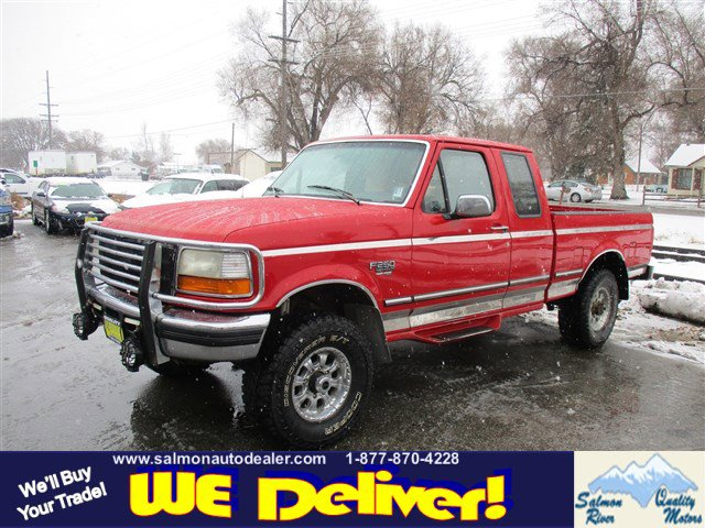"1997 Ford F-250 HD HD Supercab 138.8"" WB 4WD RED"