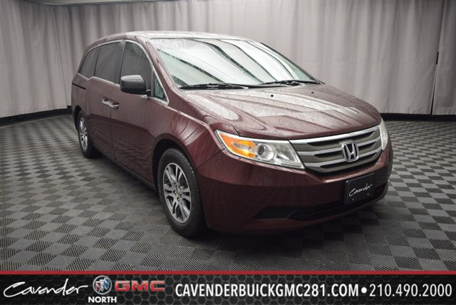 2013 Honda Odyssey 5dr EX-L MAROON Bucket Seats Brake Assist