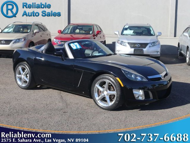 2007 Saturn Sky 2dr Conv Red Line BLACK ONYX