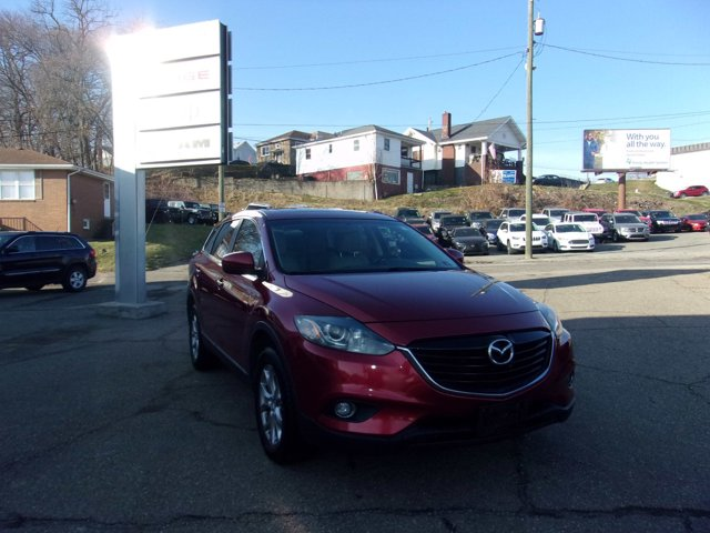2014 Mazda CX-9 AWD 4dr Touring Zeal Red Mica Blind Spot Monito