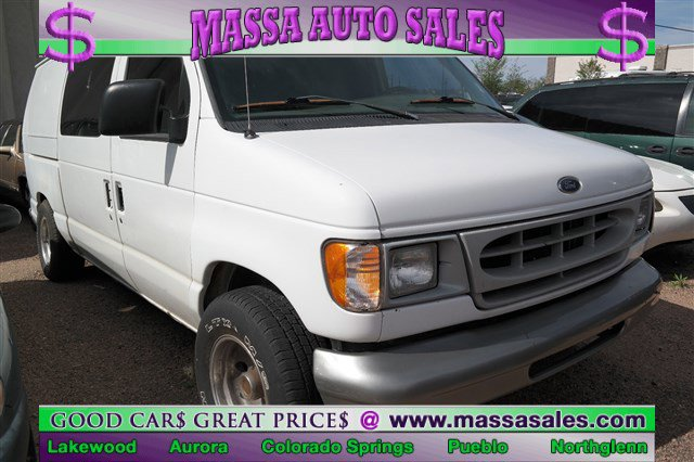 1999 Ford Econoline Cargo Van E-150 WHITE Steel Wheels