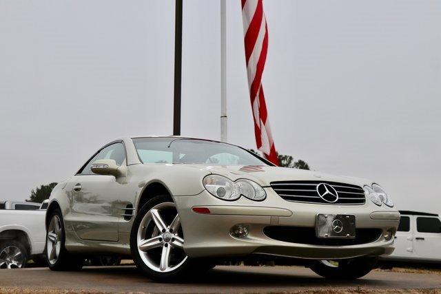 2003 Mercedes-Benz SL-Class 2dr Roadster 5.0L DESERT SILVER
