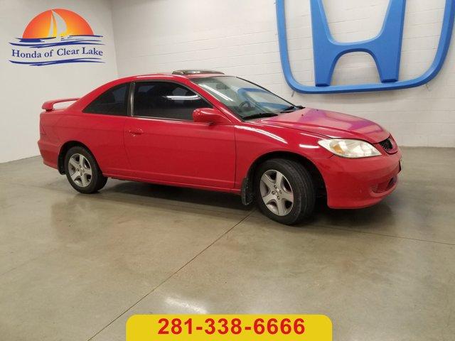 2004 Honda Civic 2dr Cpe EX Auto RALLYE RED