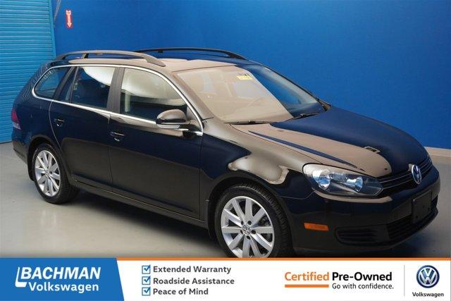 Certified 2014 Volkswagen Jetta SportWagen 4dr DSG TDI BLACK UN