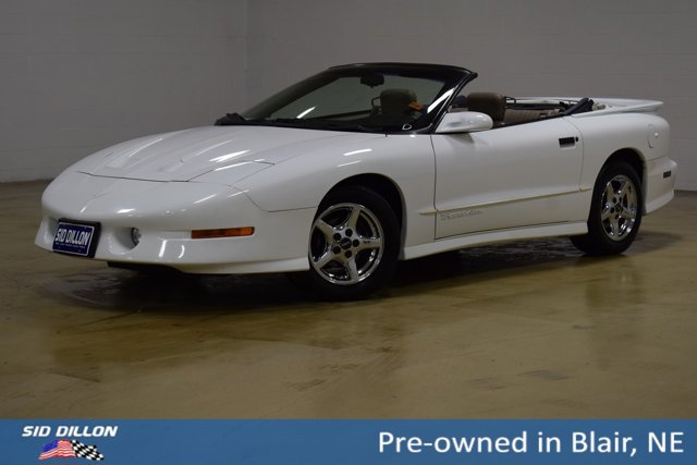 1997 Pontiac Firebird 2dr Convertible Trans Am BRIGHT WHITE