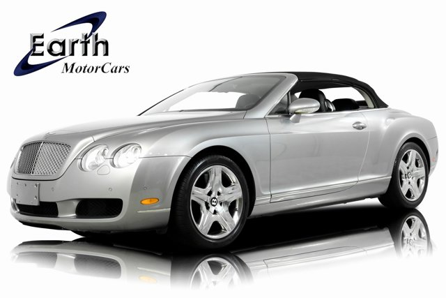 2007 Bentley Continental GT 2dr Conv SILVER TEMPEST