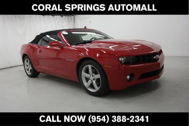 2011 Chevrolet Camaro 2dr Conv 2LT VICTORY RED