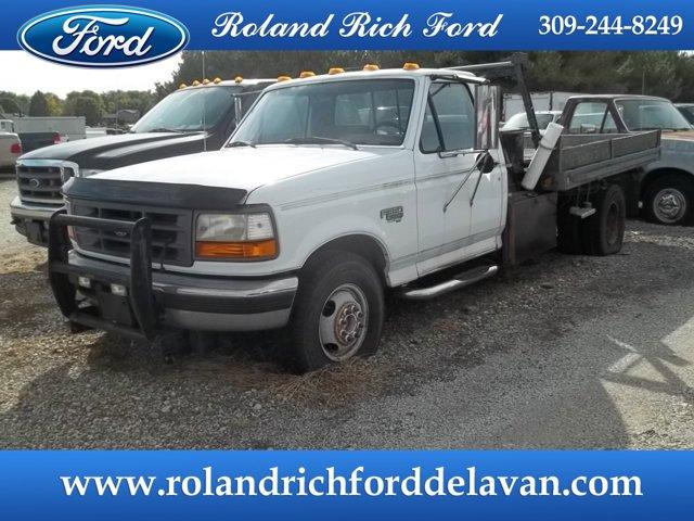 """1997 Ford F-350 Chassis Cab Reg Cab 137"""" WB, 60.0"""" CA DRW"""