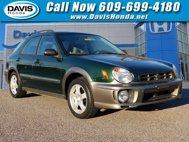 2002 Subaru Impreza Wagon 5dr Wgn Outback Sport Auto GREEN