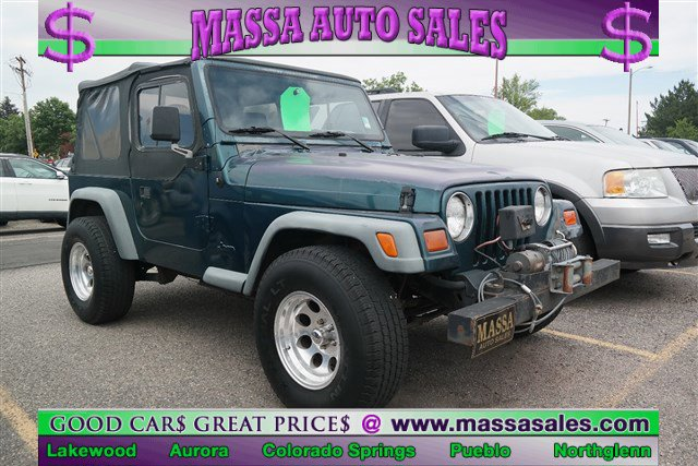 1997 Jeep Wrangler 2dr SE GREEN Tires - Rear All-Terrain