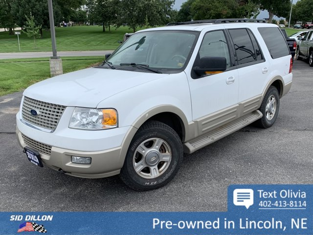 2006 Ford Expedition 4dr Eddie Bauer 4WD WHITE