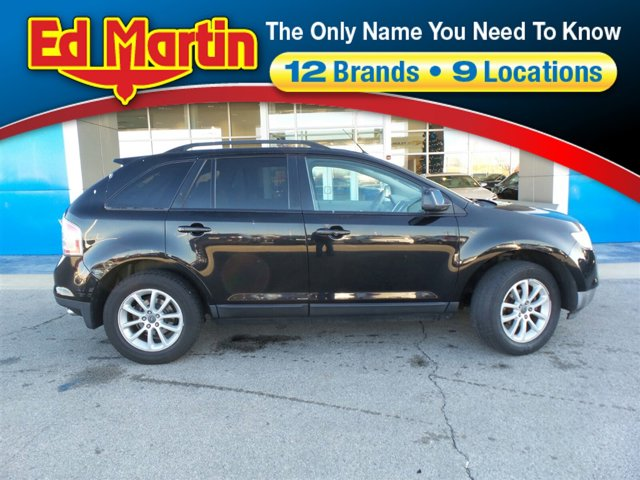 2007 Ford Edge FWD 4dr SEL BLACK CD Changer Bucket Seats