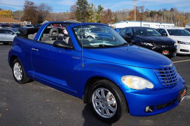 2006 Chrysler PT Cruiser 2dr Convertible Touring BLUE