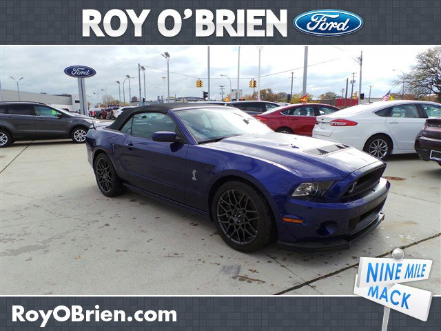 2013 Ford Mustang 2dr Conv Shelby GT500 Deep Impact Blue