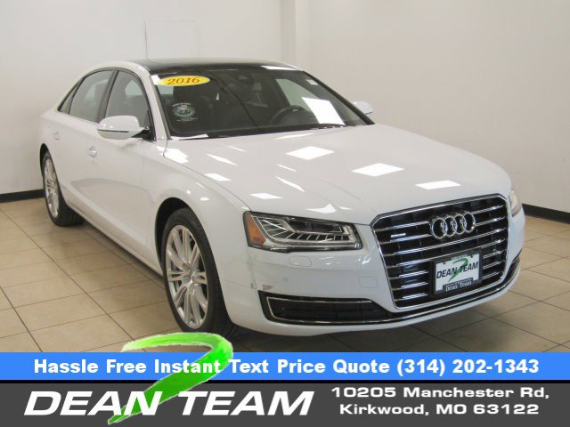 2016 Audi A8 L 4DR SDN 3.0T WHITE Auxiliary Audio Input