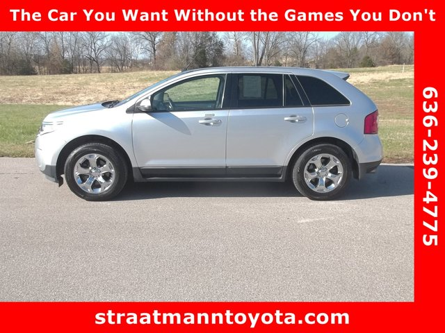 2013 Ford Edge 4dr SEL FWD SILVER Bucket Seats