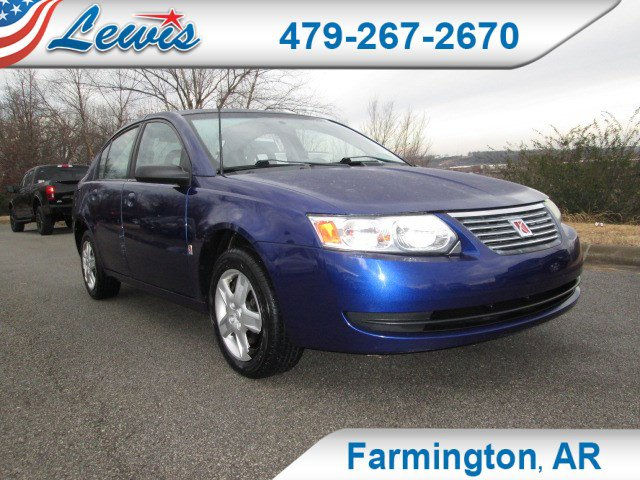2006 Saturn Ion ION 2 4dr Sdn Auto LASER BLUE Cloth Seats