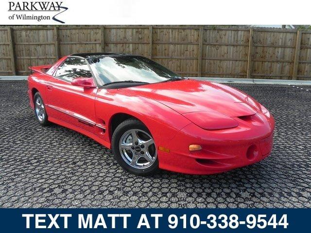 2002 Pontiac Firebird 2dr Cpe Trans Am BRIGHT RED