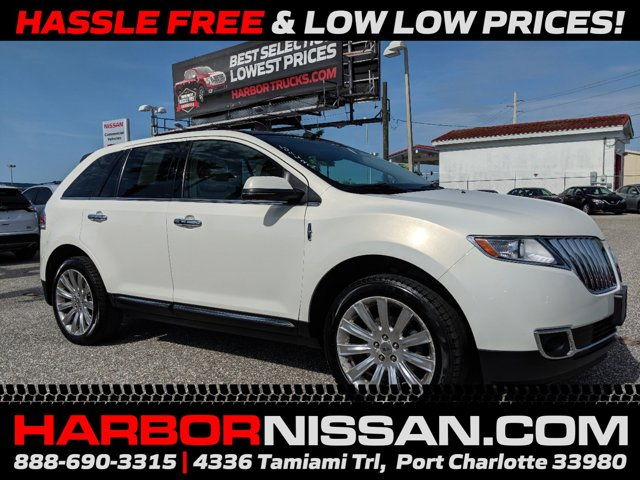 2012 Lincoln MKX AWD 4dr Bluetooth Connection