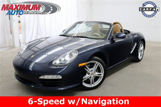 2011 Porsche Boxster 2dr Roadster Convertible Soft Top